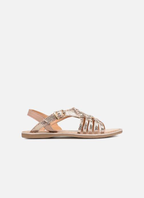Sandales et nu-pieds Bopy Fouada Lilybellule Argent vue derrière