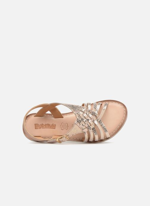 Sandales et nu-pieds Bopy Fouada Lilybellule Argent vue gauche