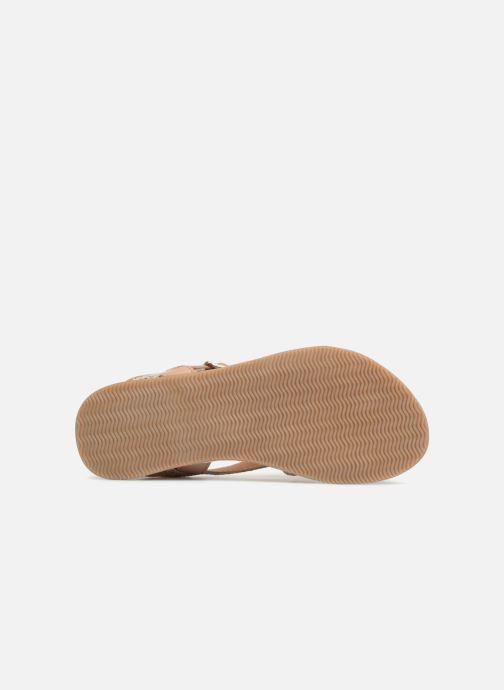 Sandales et nu-pieds Bopy Fouada Lilybellule Argent vue haut