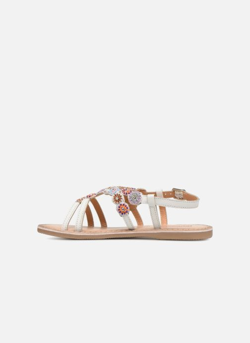 Sandales et nu-pieds Bopy Fozia Lilybellule Blanc vue face