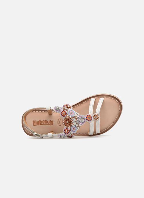 Sandales et nu-pieds Bopy Fozia Lilybellule Blanc vue gauche