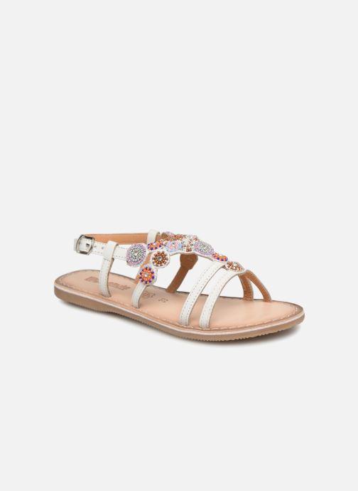 Sandales et nu-pieds Bopy Fozia Lilybellule Blanc vue détail/paire