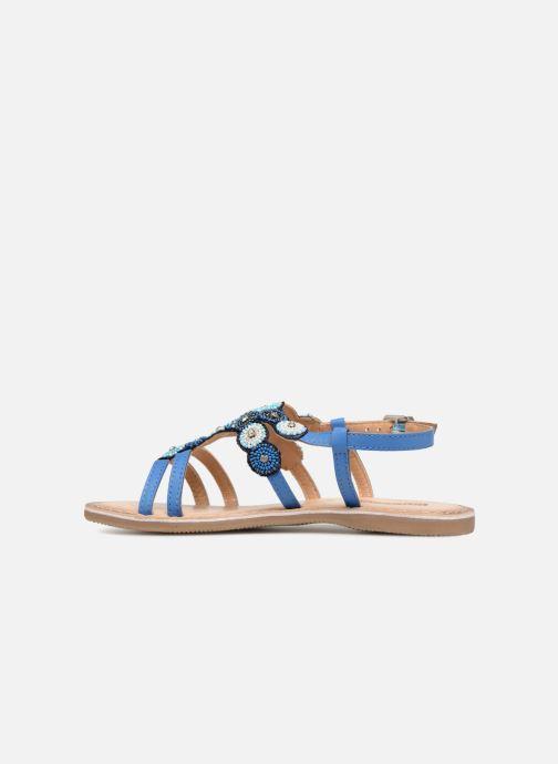 Sandales et nu-pieds Bopy Fozia Lilybellule Bleu vue face