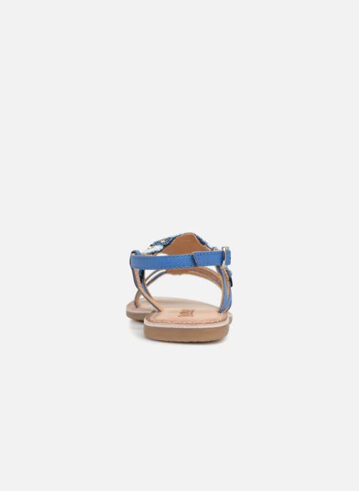 Sandales et nu-pieds Bopy Fozia Lilybellule Bleu vue droite