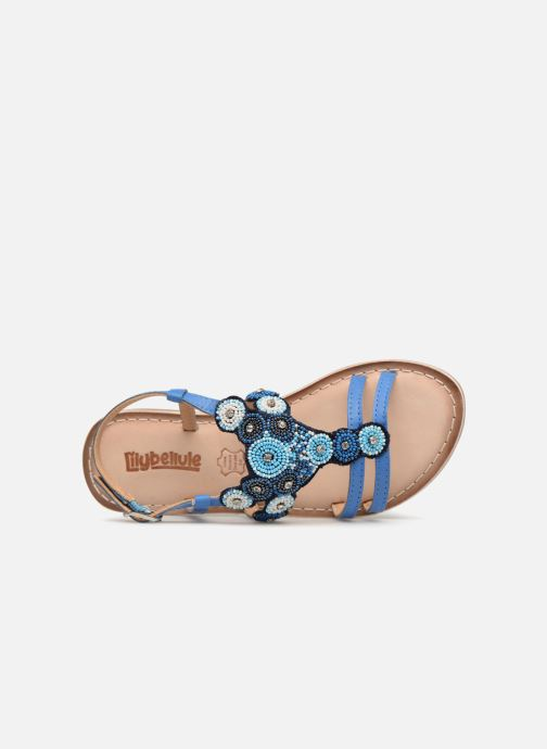 Sandales et nu-pieds Bopy Fozia Lilybellule Bleu vue gauche