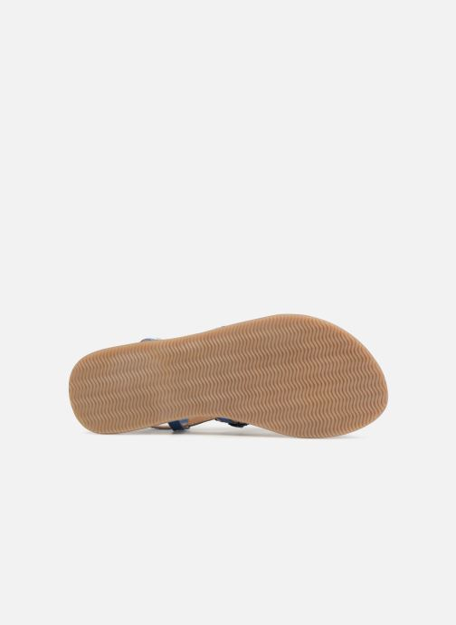 Sandales et nu-pieds Bopy Fozia Lilybellule Bleu vue haut