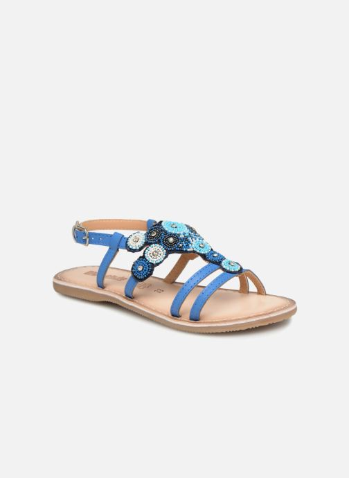Sandales et nu-pieds Bopy Fozia Lilybellule Bleu vue détail/paire