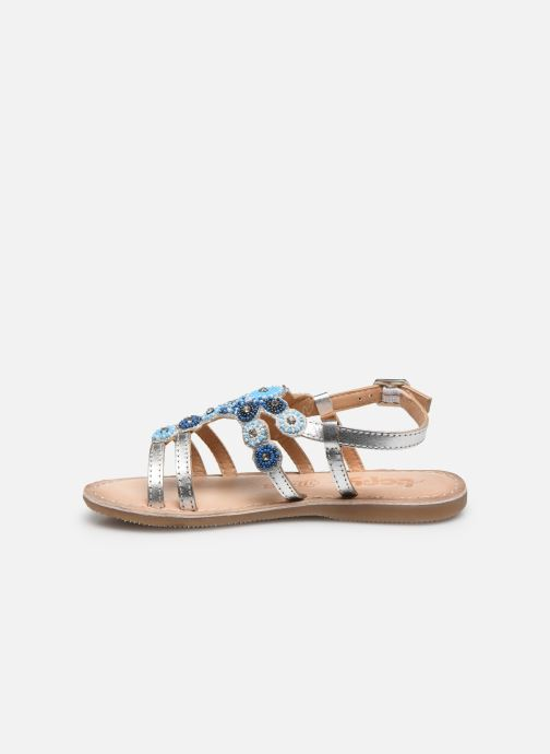 Sandali e scarpe aperte Bopy Fozia Lilybellule Argento immagine frontale