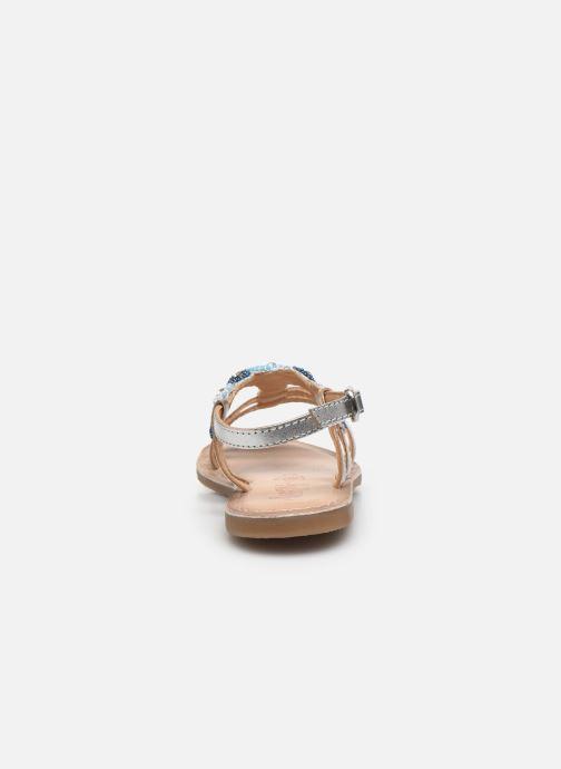 Sandali e scarpe aperte Bopy Fozia Lilybellule Argento immagine destra