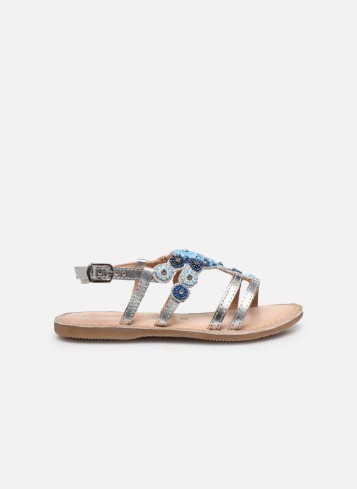 Sandali e scarpe aperte Bopy Fozia Lilybellule Argento immagine posteriore
