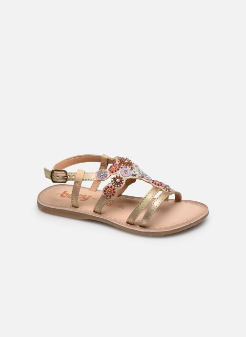 Sandales et nu-pieds Bopy Fozia Lilybellule Beige vue détail/paire