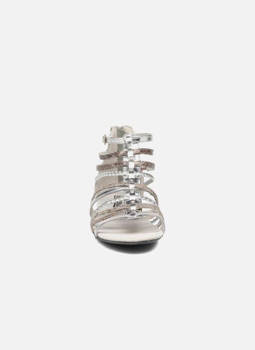 Sandales et nu-pieds Bopy Timba Lilybellule Argent vue portées chaussures