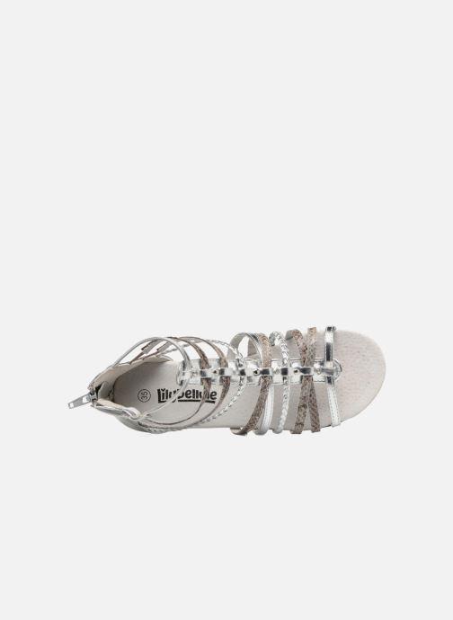 Sandales et nu-pieds Bopy Timba Lilybellule Argent vue gauche
