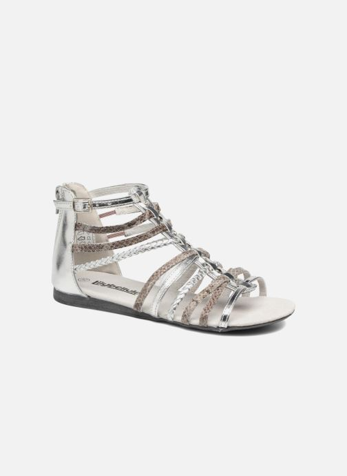 Sandales et nu-pieds Bopy Timba Lilybellule Argent vue détail/paire