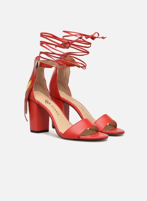 Sandals Katy Perry THE PIERRA Red 3/4 view