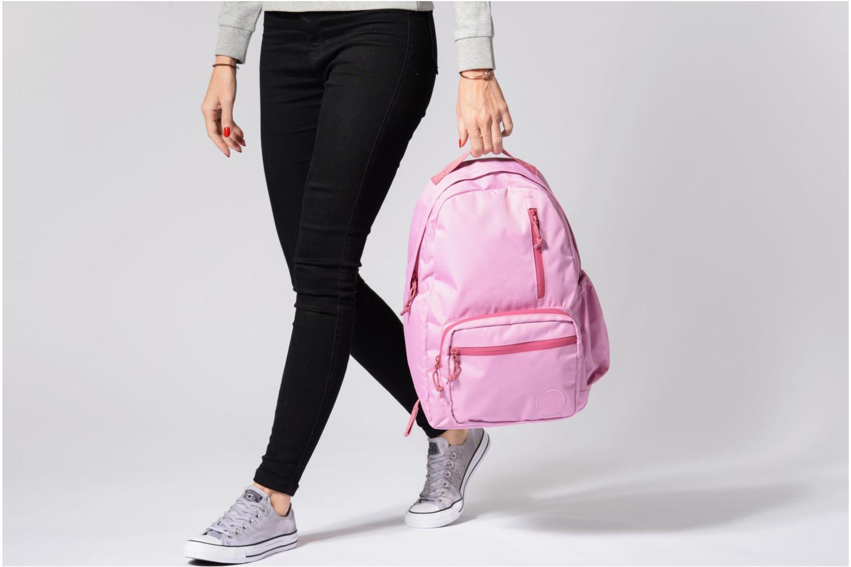 Sacs à dos Converse Go Backpack Noir vue haut