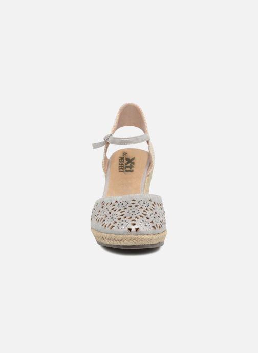 Espadrilles Xti Ossie Argent vue portées chaussures