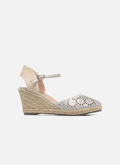 Espadrilles Xti Ossie Silver back view
