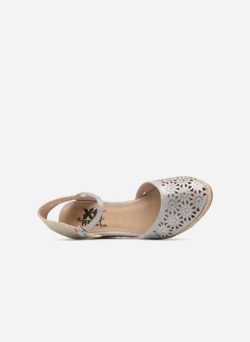 Espadrilles Xti Ossie Silver view from the left