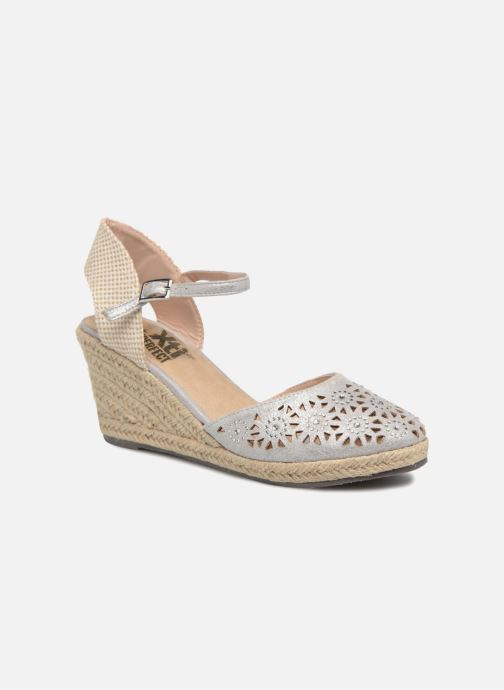 Espadrilles Xti Ossie Silver detailed view/ Pair view