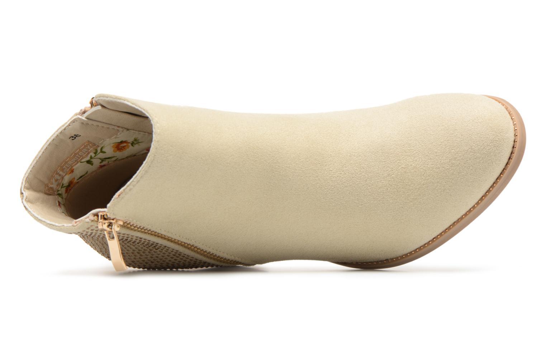 Bottines et boots Xti Hapapy Beige vue gauche