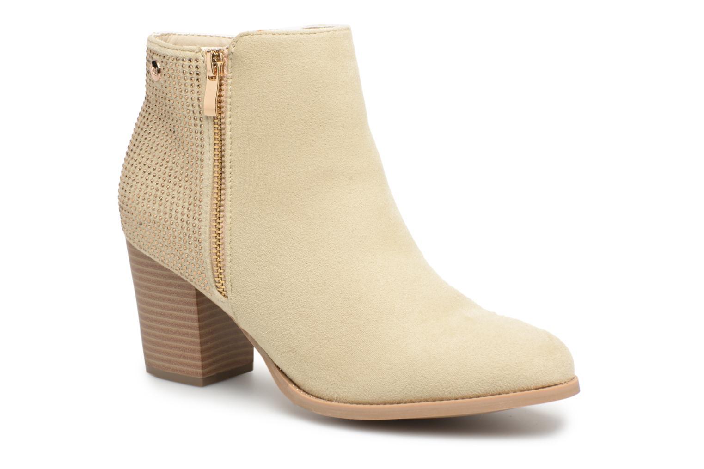 Bottines et boots Xti Hapapy Beige vue détail/paire