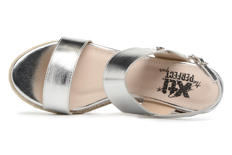 Sandales et nu-pieds Xti Tacoove Argent vue gauche