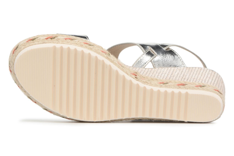Sandales et nu-pieds Xti Tacoove Argent vue haut