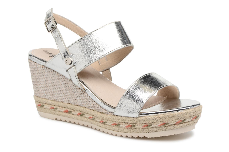 Sandales et nu-pieds Xti Tacoove Argent vue détail/paire