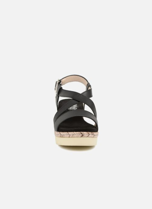 Sandales et nu-pieds Xti Sylout Noir vue portées chaussures
