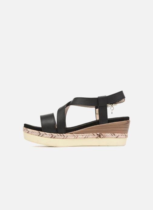 Sandales et nu-pieds Xti Sylout Noir vue face