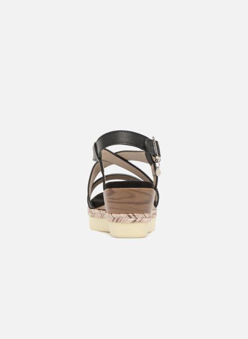 Sandales et nu-pieds Xti Sylout Noir vue droite