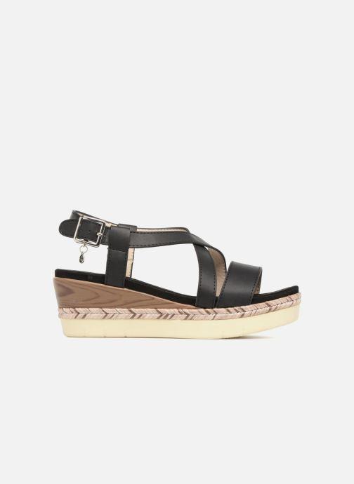 Sandales et nu-pieds Xti Sylout Noir vue derrière