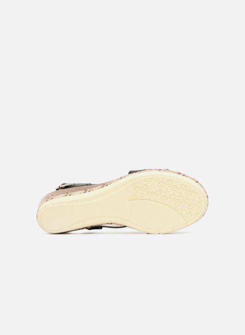 Sandales et nu-pieds Xti Sylout Noir vue haut