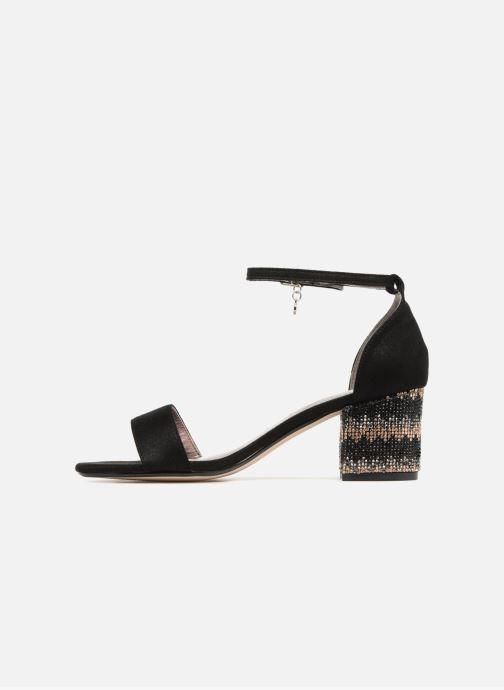 Sandales et nu-pieds Xti Gelimie Noir vue face