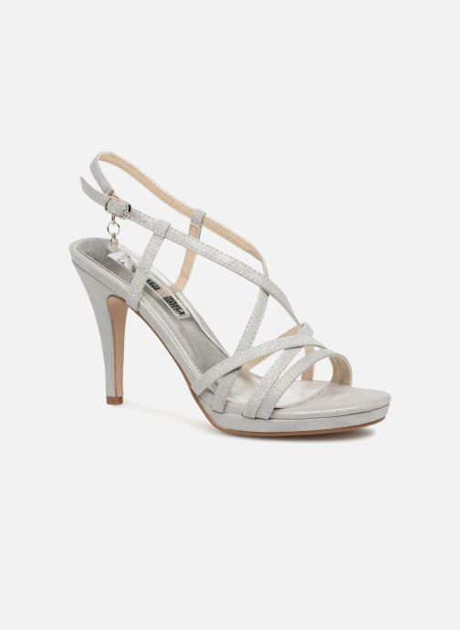 98ef16c6103 ... Chaussure femme · Xti femme  Eulery. Sandales et nu-pieds Xti Eulery  Argent vue détail paire