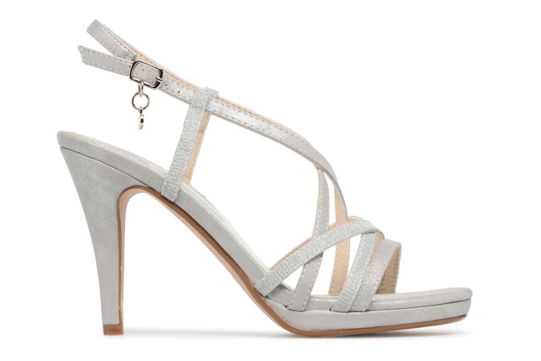 Sandales et nu-pieds Xti Eulery Argent vue derrière
