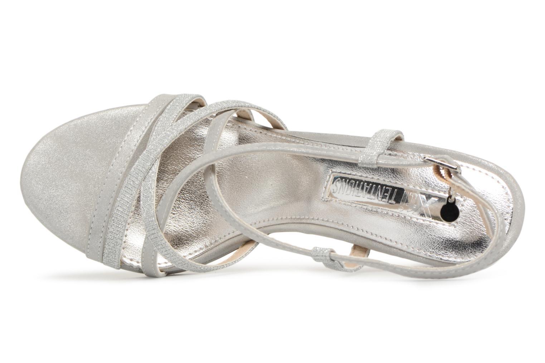 Sandales et nu-pieds Xti Eulery Argent vue gauche