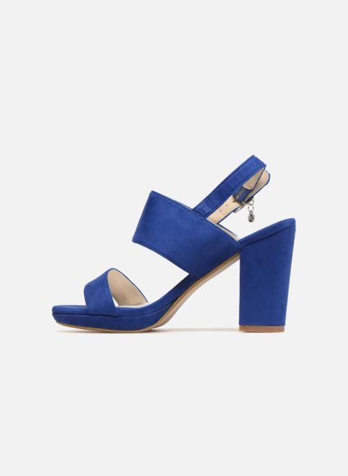 Sandales et nu-pieds Xti Boonox Bleu vue face