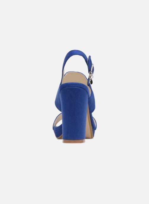 Sandales et nu-pieds Xti Boonox Bleu vue droite