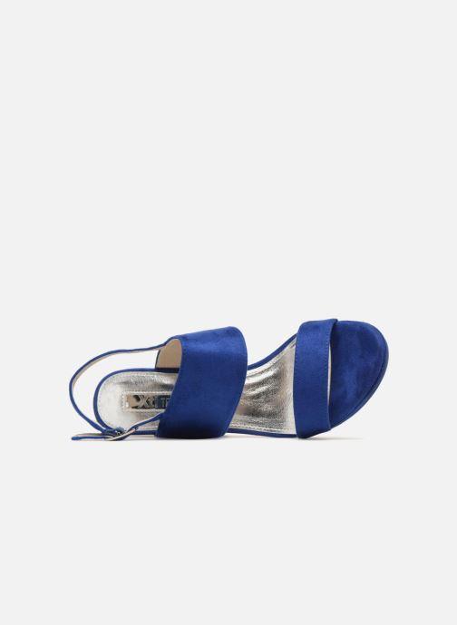 Sandales et nu-pieds Xti Boonox Bleu vue gauche
