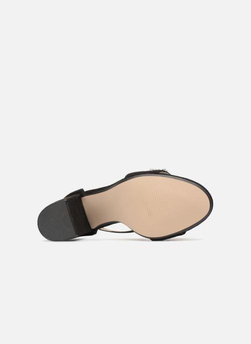 Sandales et nu-pieds Xti Rehari Noir vue haut