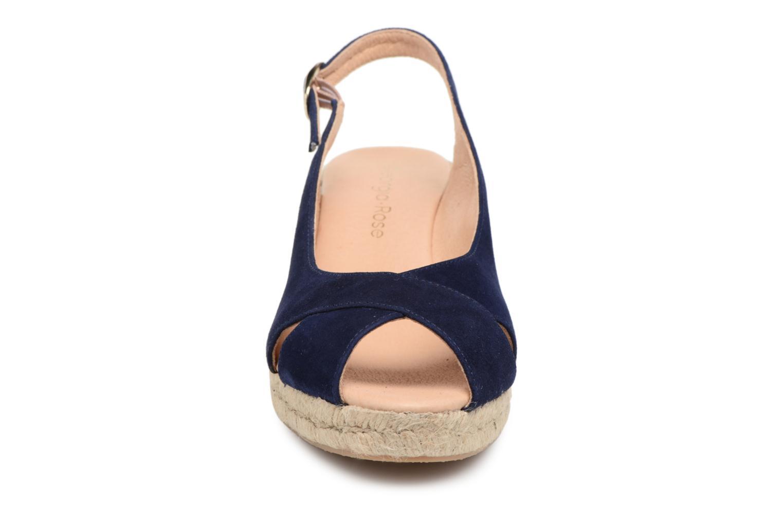 Espadrilles Georgia Rose Delica Bleu vue portées chaussures