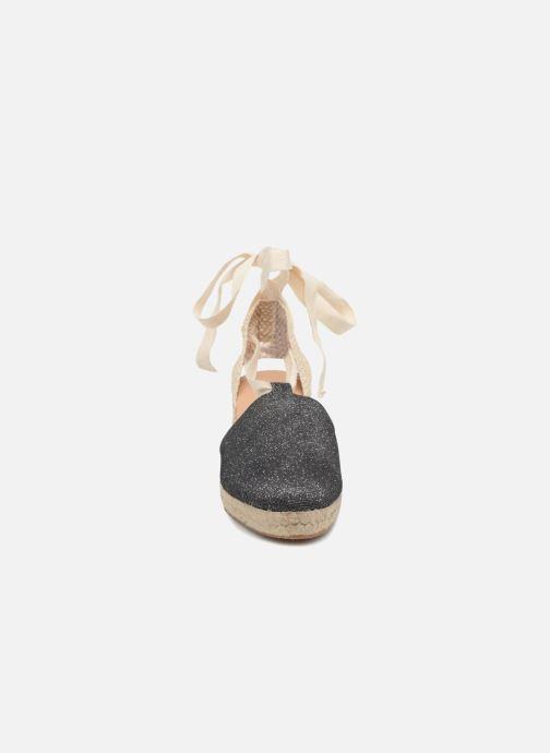 Espadrilles Georgia Rose Deesse Gris vue portées chaussures