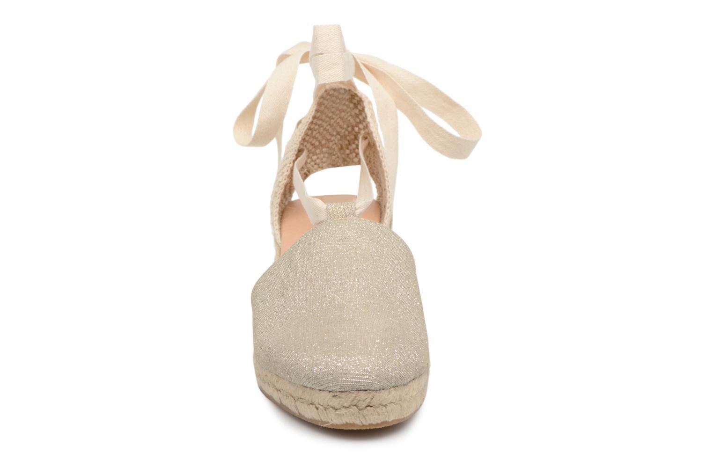 Espadrilles Georgia Rose Deesse Or et bronze vue portées chaussures