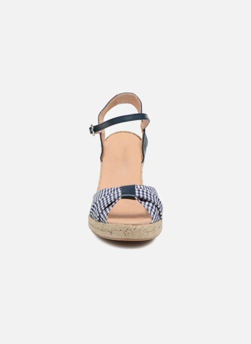 Espadrilles Georgia Rose Drigitte Bleu vue portées chaussures