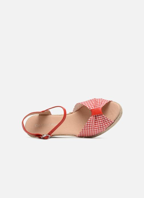 Espadrilles Georgia Rose Drigitte Rood links