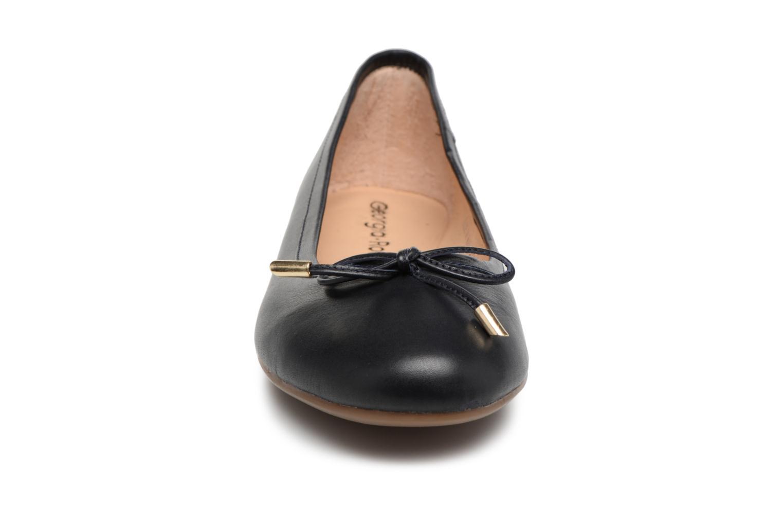 Ballerines Georgia Rose Lenova Soft Bleu vue portées chaussures
