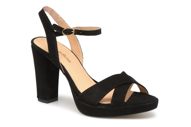 Sandales et nu-pieds Georgia Rose Lypatou Noir vue détail/paire