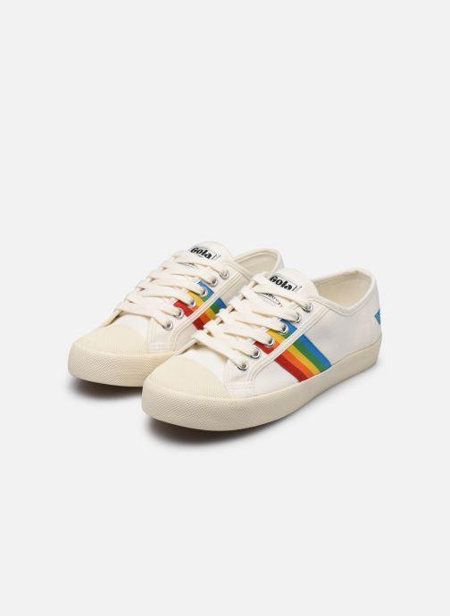 Sneakers Gola COASTER RAINBOW Bianco immagine dal basso